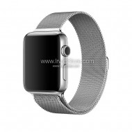 Milanese Watchband untuk Apple Watch 42mm & 38mm, Series 1 & 2 - White